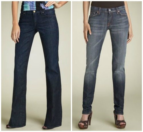 how to choose jeans shape