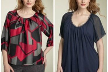 How to choose a flattering fabric - stiff vs fluid fabric