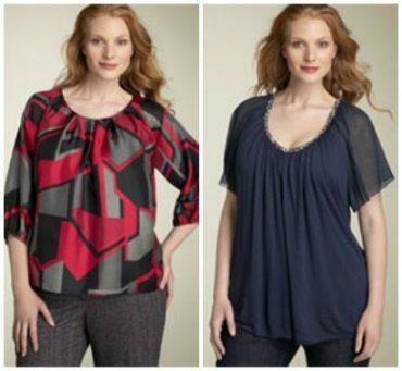 How to choose a flattering fabric - stiff vs fluid fabric