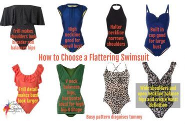 How to choose a flattering swimsuit for your figure