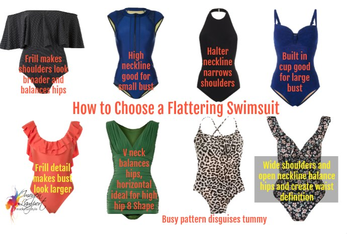 847dce7b813 How to Choose Flattering Swimwear - Inside Out Style