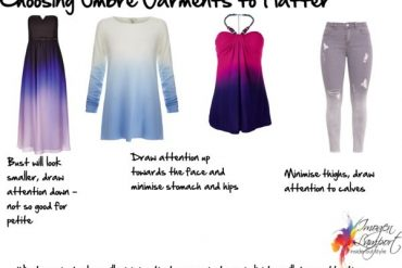 How to Choose ombre garments to flatter your figure