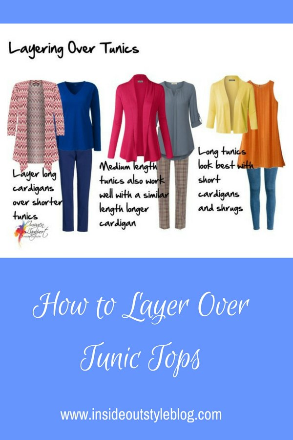 How to layer jackets and cardigans over tunic tops - what you need to know