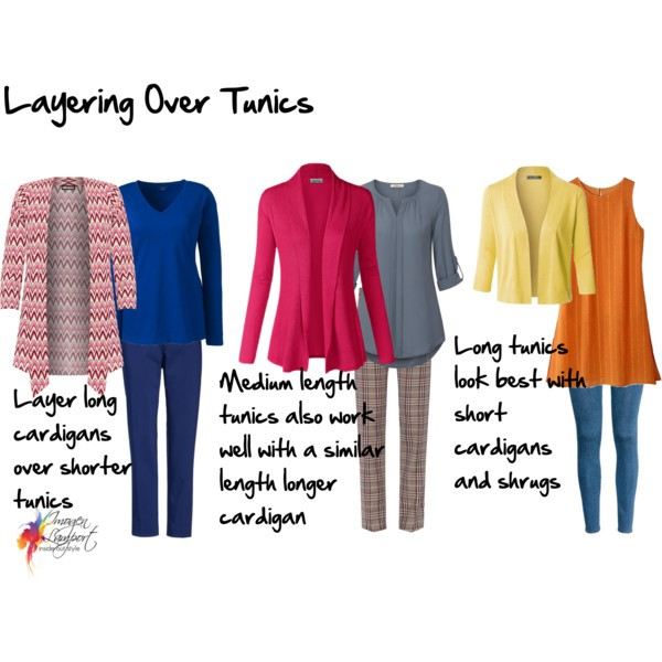 Tips for layering over tunics
