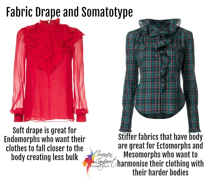 Choosing the ideal fabric drape to flatter your figure