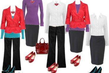 Wardrobe Capsule - 10 items - 1 working week of outfits