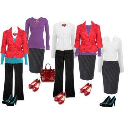 10 Items 1 Working Week – Work that Wardrobe's Challenge