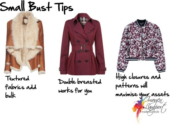 small bust tips - jackets
