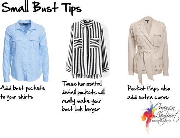 Small bust tips pockets