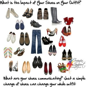 what do your shoes say about you - how are they communicating