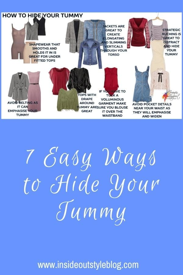 7 Easy Ways to Hide Your Tummy
