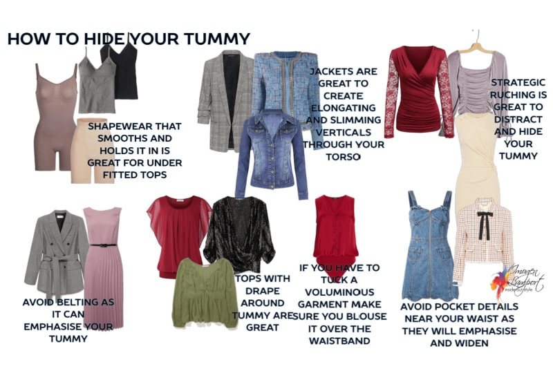 How to Hide your Tummy