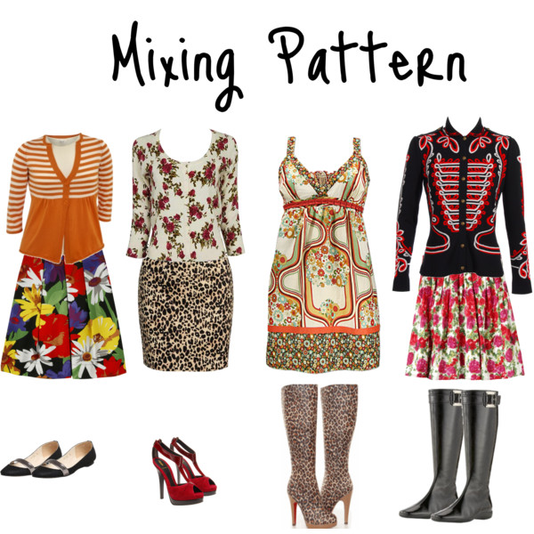 Patterns That Easily Mix Together and Why They Work  www.insideoutstyleblog.com