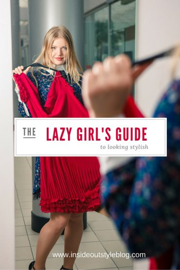 How to Improve Your Image While Watching TV lazy girl's guide to looking stylish