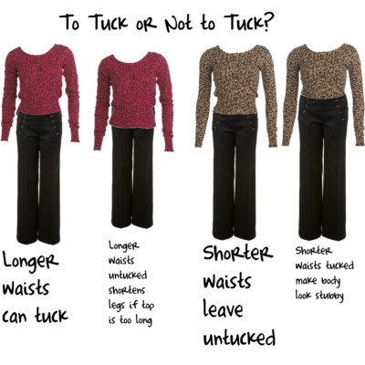To Tuck or Not To Tuck – That is the Question