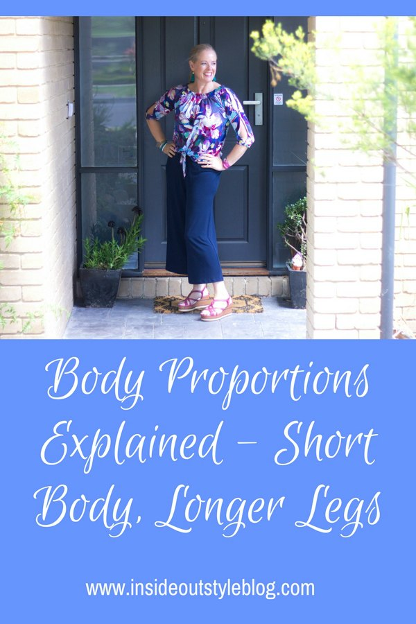 How to dress your shorter body and longer legs