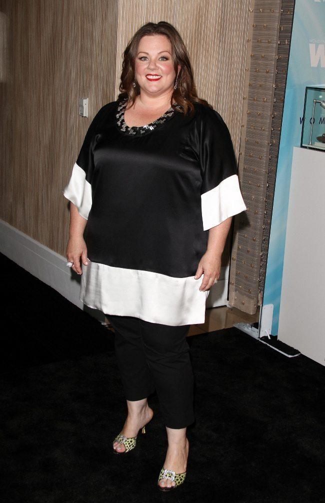 Melissa McCarthy O body shape
