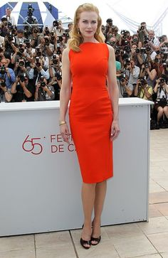 Nicole Kidman I body shape or slim column or rectangle body shape