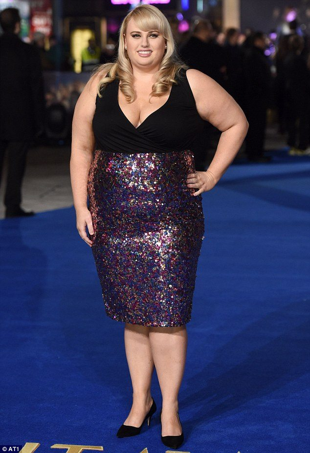Rebel Wilson O body shape