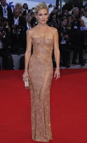 kate hudson I body shape or slim rectangle or column shape