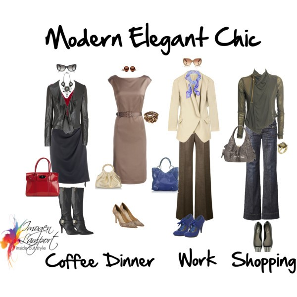 Chic modern work clothes