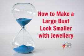 How to make a large bust look smaller with a necklace