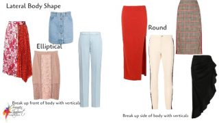 How to flatter your lateral body shape