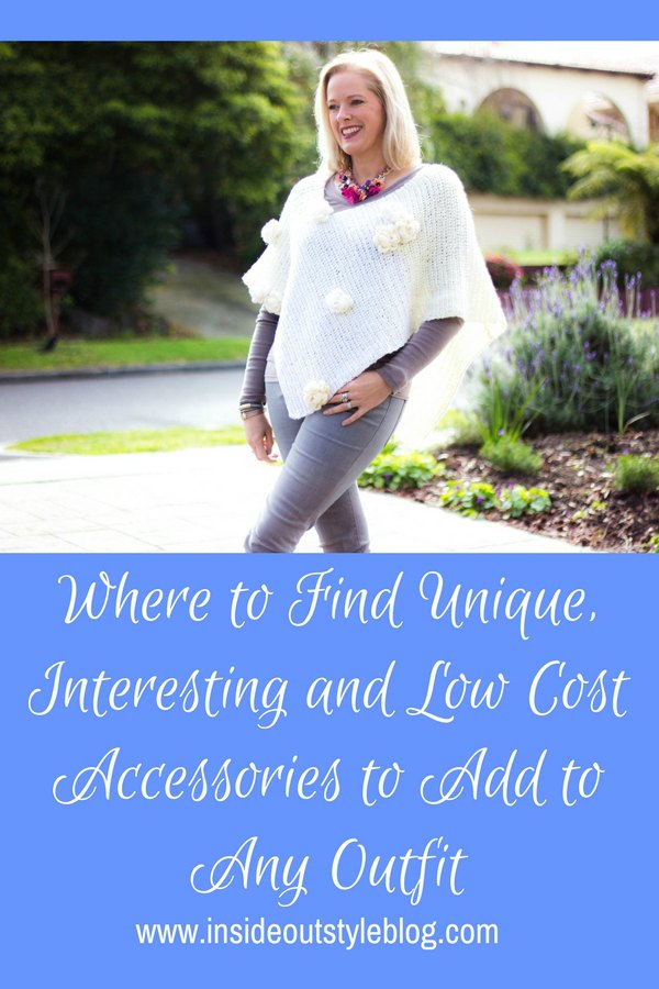 Where to Find Unique, Interesting and Low Cost Accessories to Add to Any Outfit