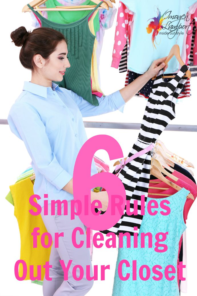 6 Simple rules for cleaning out your closet from Inside Out Style Blog