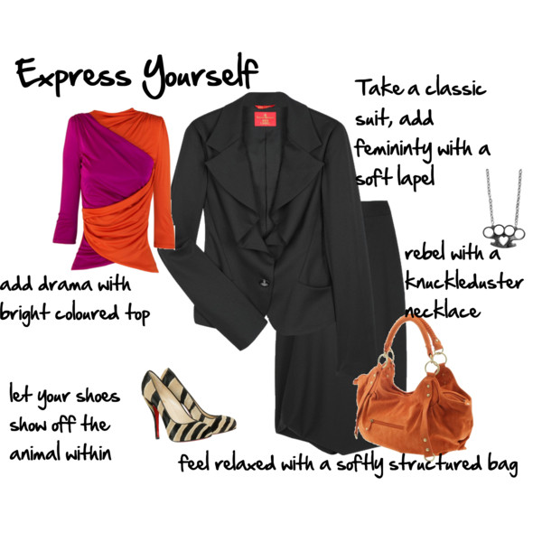 Discover how to express your personality through your clothing