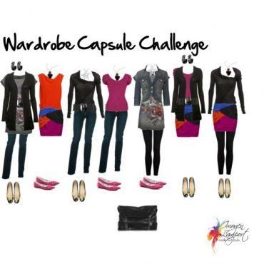 Wardrobe Capsule Challenge