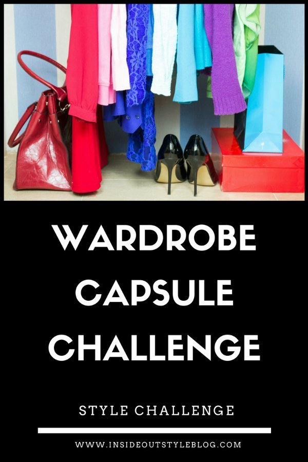 Take the 1 Week Wardrobe Capsule Challenge and Improve your Style