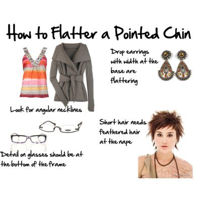 How to Flatter a Pointed Chin