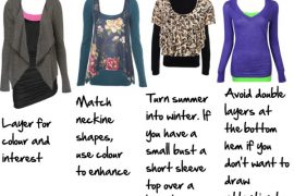 How to layer tops - tips from a professional personal stylist #layeringtips