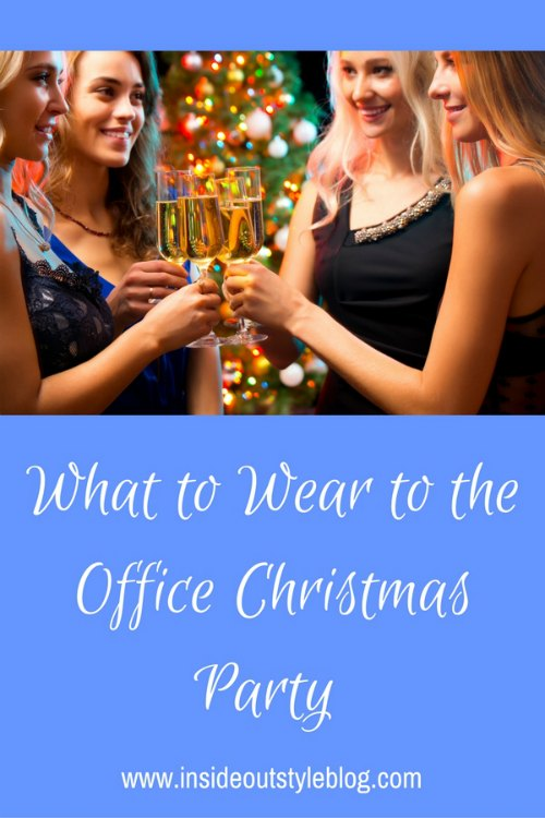 What to wear to the office christmas party or a work party