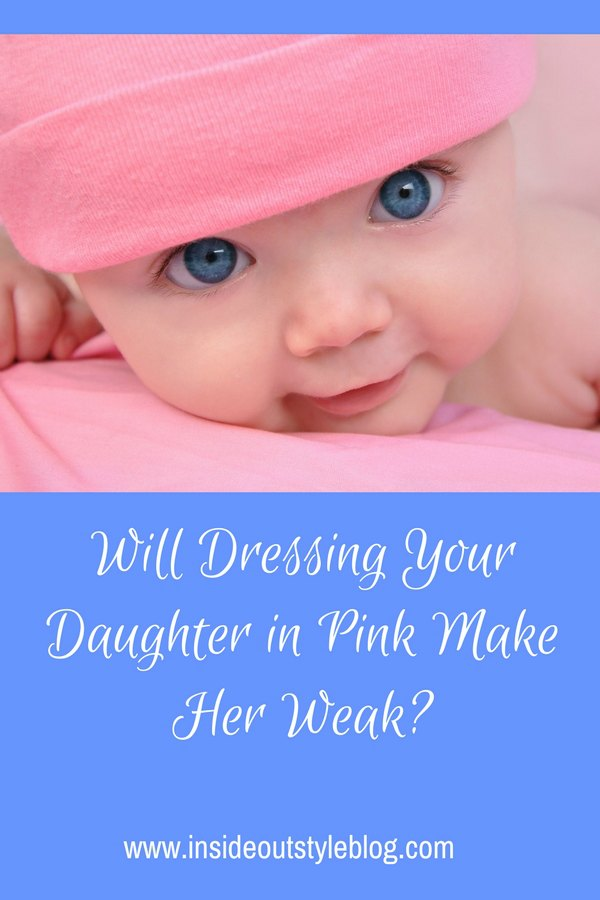Does wearing pink make girls weak?