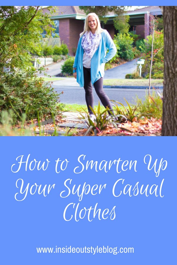 how to smarten up your super casual clothes