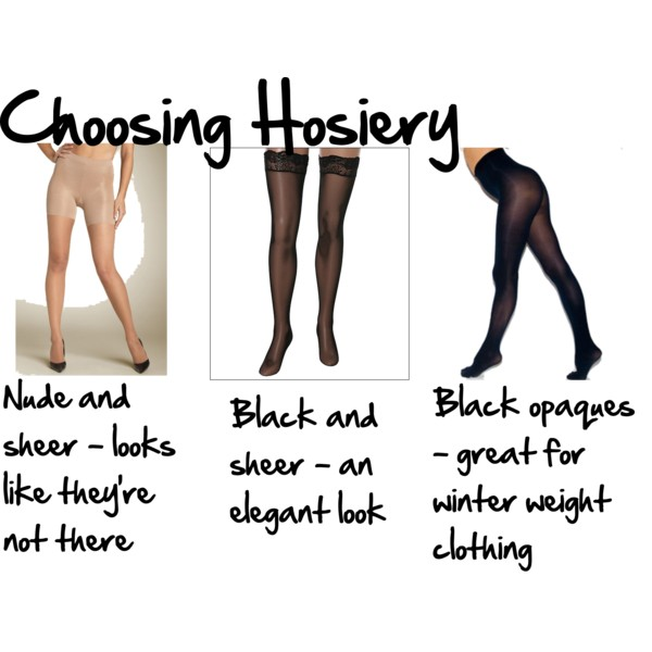 Choosing Hosiery