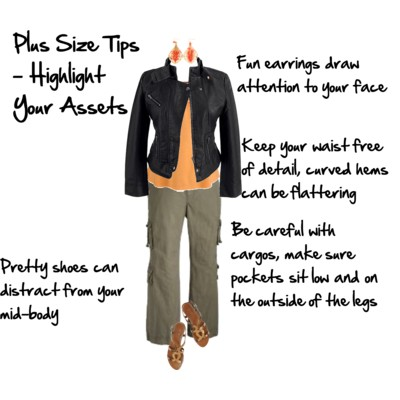Plus Size Tips - Highlight Your Assets