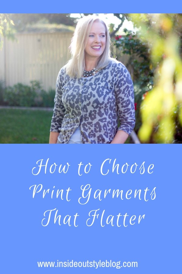 How to Choose Print Garments That Flatter