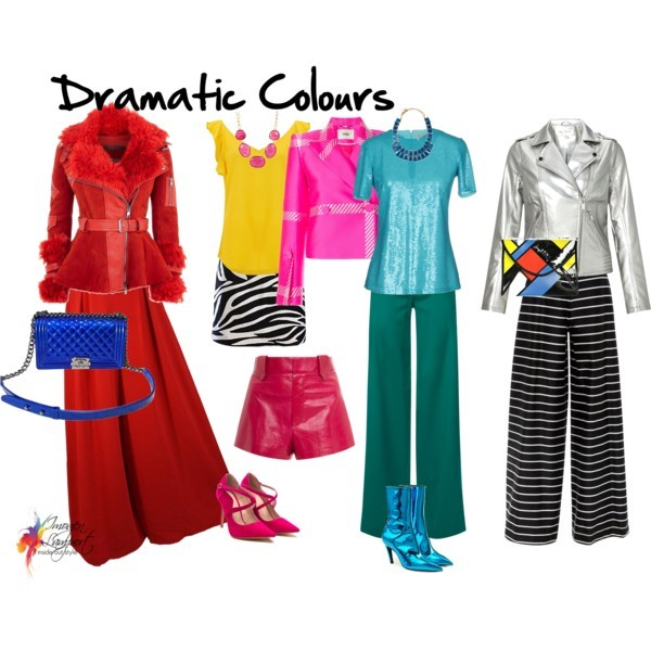 Colour Personality 3 Bold Dramatic Inside Out Style