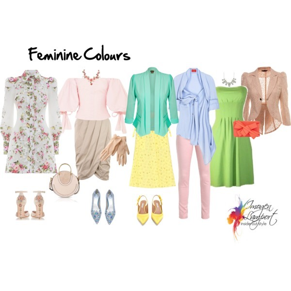 Understanding how your personality influences your colour choices - the Feminine personality style