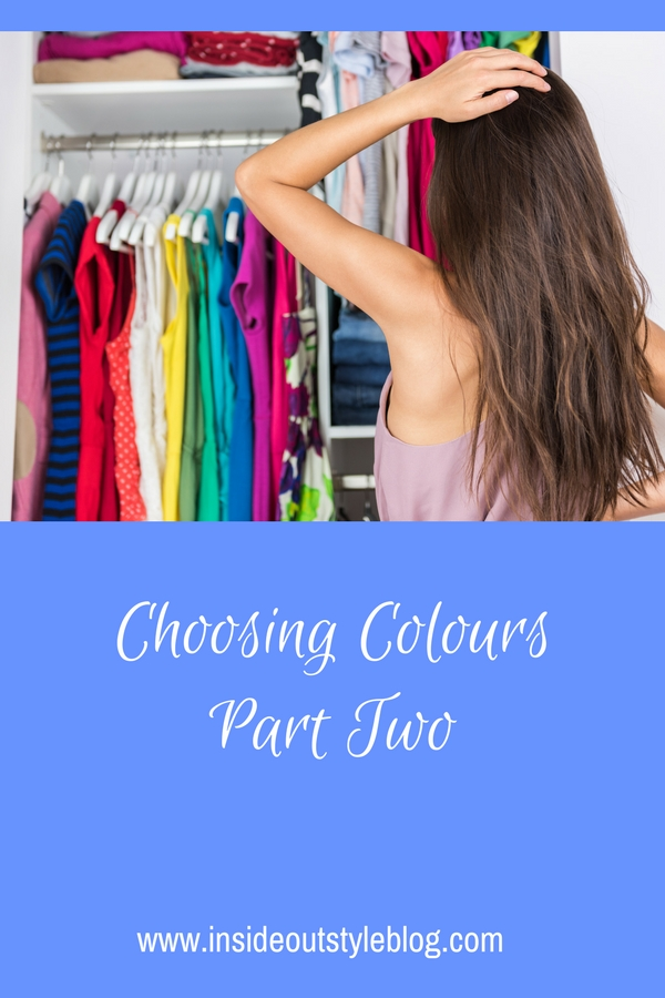 Choosing Colours - Part Two