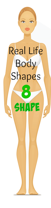 Real Life Body Shapes 8 Shape