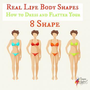 8 shape hourglass body shape