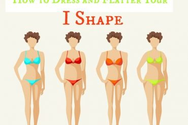 Real life body shapes - I shape - how to dress and flatter it