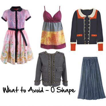 What to Avoid when dressing the O shape body