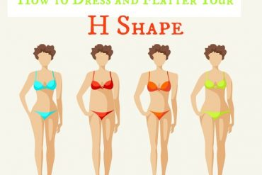 real life body shapes H shape - how to dress and flatter