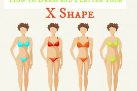 real life body shapes X shape - learn how to flatter and dress this hourglass shape