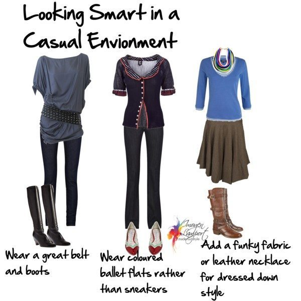 what to wear so you are looking smart in a casual environment